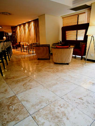 Cappuccino Marble Floors of London