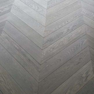 Chevron Sacré Coeur Engineered Oak Chevron Floors of London