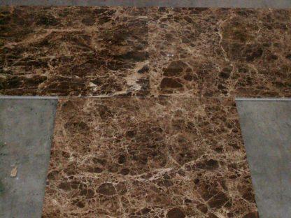 Dark Emperador Marble Floors of London