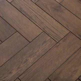 Solid Oak Parquet Herringbone Floors of London