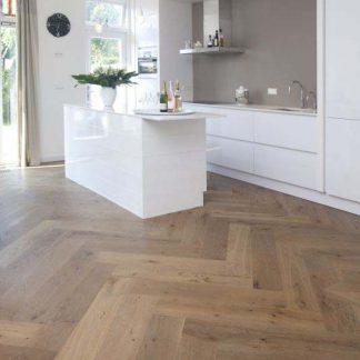 Engineered Oak Herringbone Floors of London