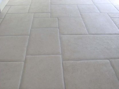 Semond Pillowed French Limestone Floors of London