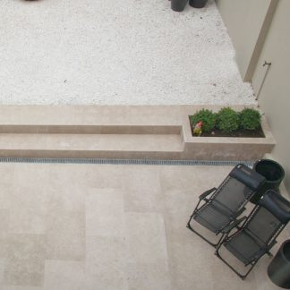 Back Yard Paving Limestone Floors of London