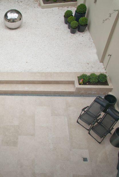 Back Yard Paving Limestone Floors of London