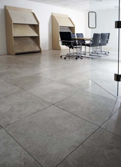 Torino Grey Limestone Floors of London