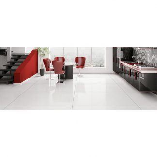 Jumbo Polished Porcelain Tiles Floors of London