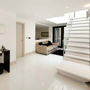 Jumbo Thin Paris Match Porcelain Tiles Floors of London